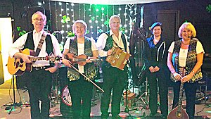 Dogsbody Ceilidh Band 5 Piece with harp